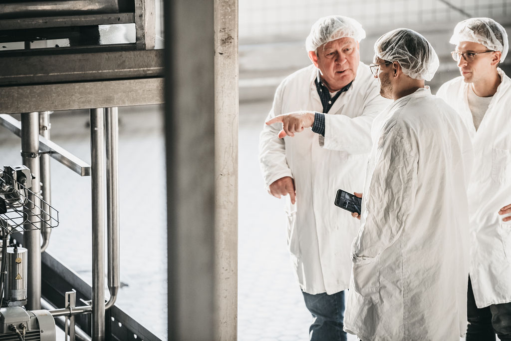 Beverage Production Customer Tour